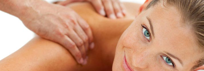 Chiropractic Erie CO Woman Getting Massage