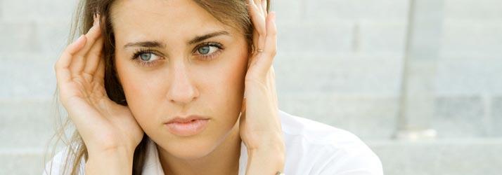 Chiropractic Erie CO Worried Woman